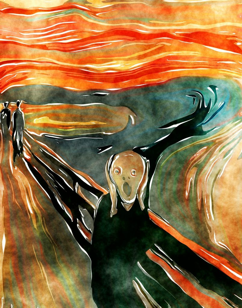 the scream edvard munch