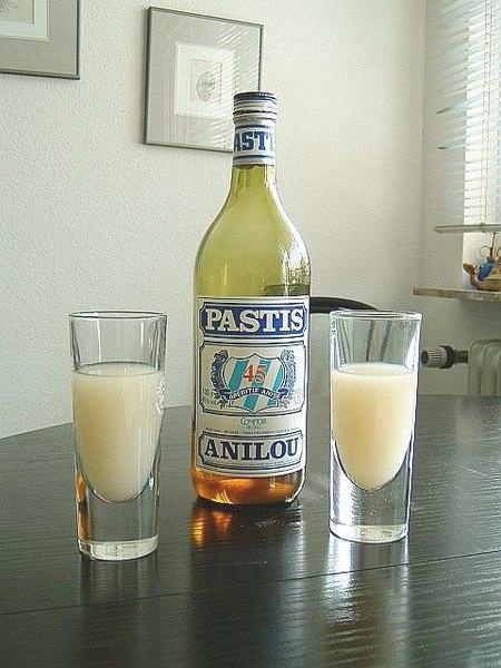 bouteille pastis